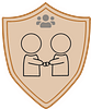 Human Services People Person badge