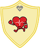 Health Healthy Heart badge