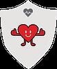 Health Happy Heart badge