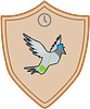 Simply Now Messenger Pigeon badge