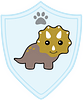 Animals Dinomite badge