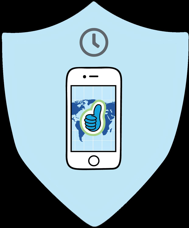 Simply Now News App badge