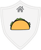 Food and Shelter Taco Tower badge