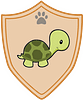 Animals Turtley Rad badge