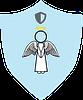 Domestic Violence Prevention Guardian Angel badge