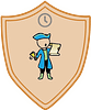 Simply Now Town Crier badge