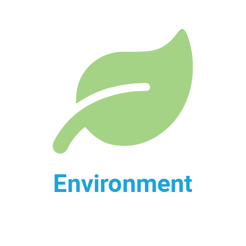 environment icon and title