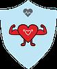 Health Huge Heart badge