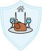 Food and Shelter Meal Mansion badge