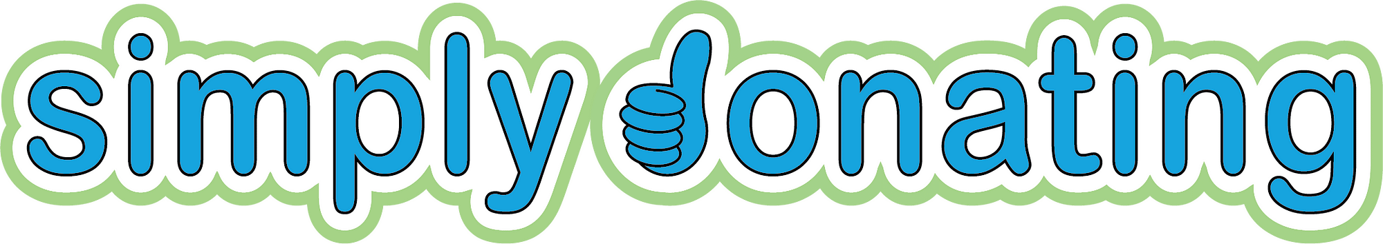 simply donating logo