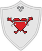 Health Hardworking Heart badge