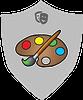 Arts Culture Humanities Painter badge