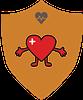Health Healing Heart badge