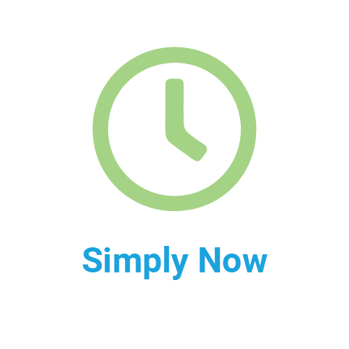 simply now icon and title